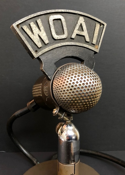 Microphone Call Letter Flags